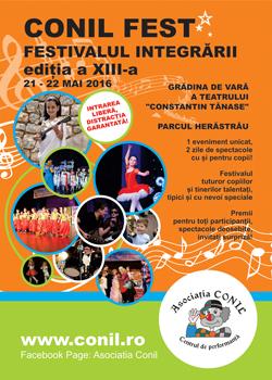 Conil Fest - Festivalul integrarii - editia a XII-a - 2016