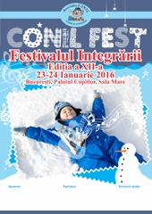 O noua editie a CONIL Fest – Festivalul Integrarii, editia a XII-a, la finalul lunii ianuarie, in Bucuresti!