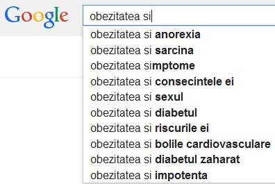 Cauti informatii despre obezitate si sanatate?
