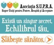 Slăbire sănătoasă, nu diete - Asociatia S.U.P.R.A.